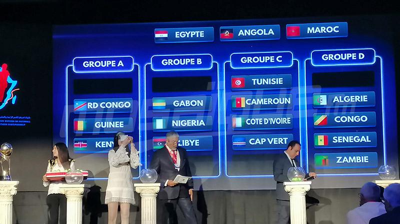 كان كرة اليد: تونس في المجموعة الثالثة