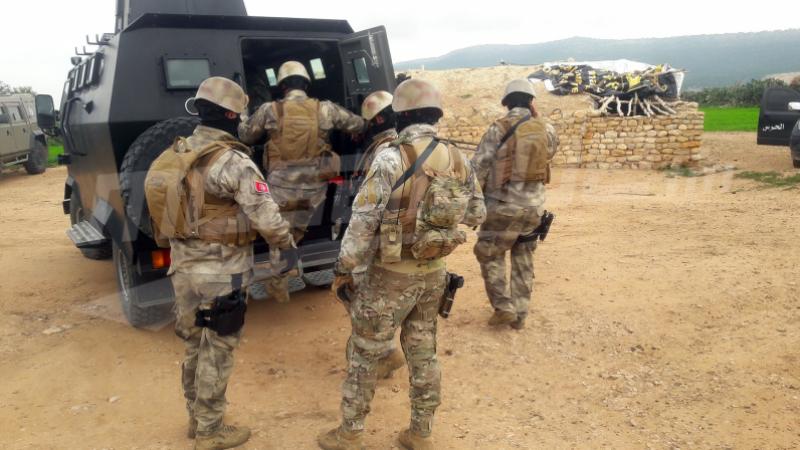 القصرين:القضاء على إرهابي و إلقاء القبض على آخر