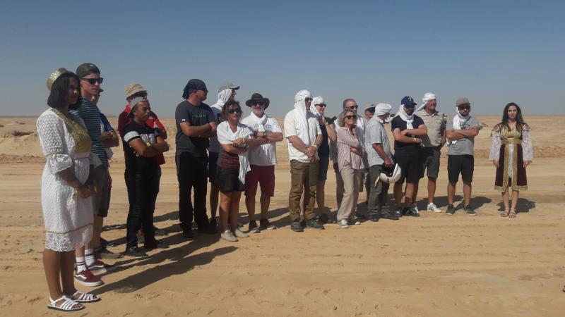 صحراء الفرانينق تستقبل العالم في ماراطون المضمار المغلق