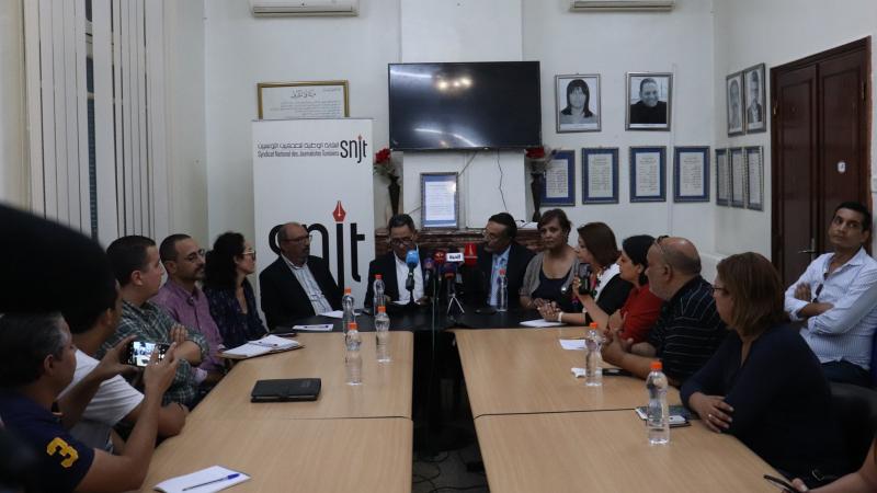 نقابة الصحفيين تطالب هيئة الإنتخابات بالتحقيق في الإعتداء على صحفيين