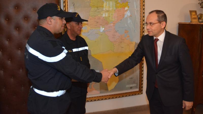 تكريم بطلين من الحماية أنقذا طفلة من الغرق في قليبية