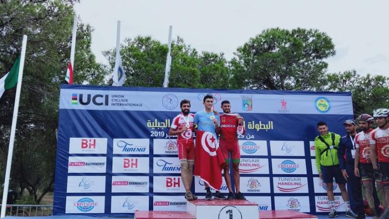 تونس تحتلّ المرتبة الأولى في البطولة العربية للدراجة الجبلية