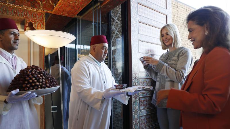 إيفانكا ترامب في المغرب