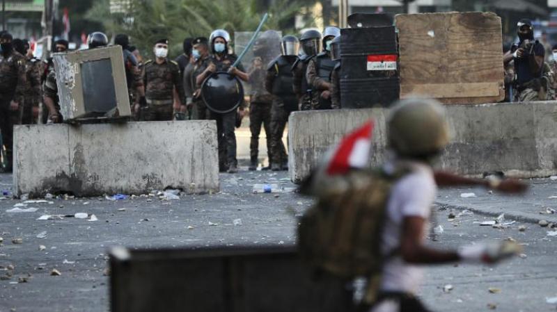 مقتل 3 محتجين برصاص قوات الأمن في الناصرية بجنوب العراق