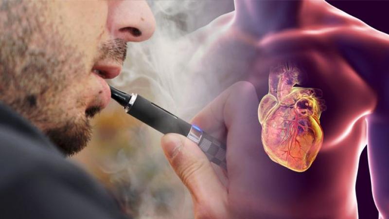 أضرار السجائر الإلكترونية على القلب مماثلة للعادية