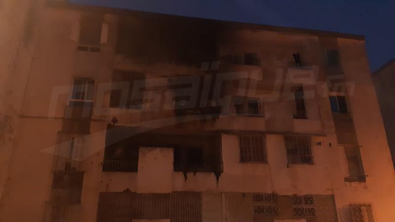 الحي الأولمبي: السيطرة على حريق إندلع في شقة