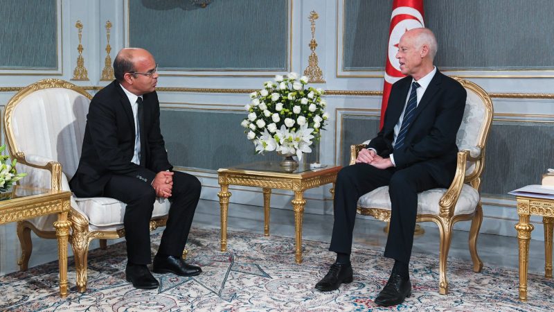 قيس سعيد يلتقي رئيس المجلس الأعلى للقضاء