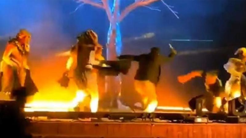 عملية طعن خلال عرض مسرحي في السعودية