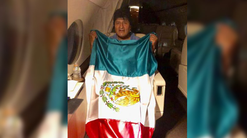 رئيس بوليفيا المستقيل يغادر إلى المكسيك