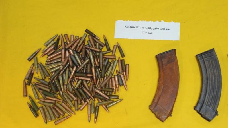 قفصة: العثور على 4 مخازن رشاش و65 خرطوشة