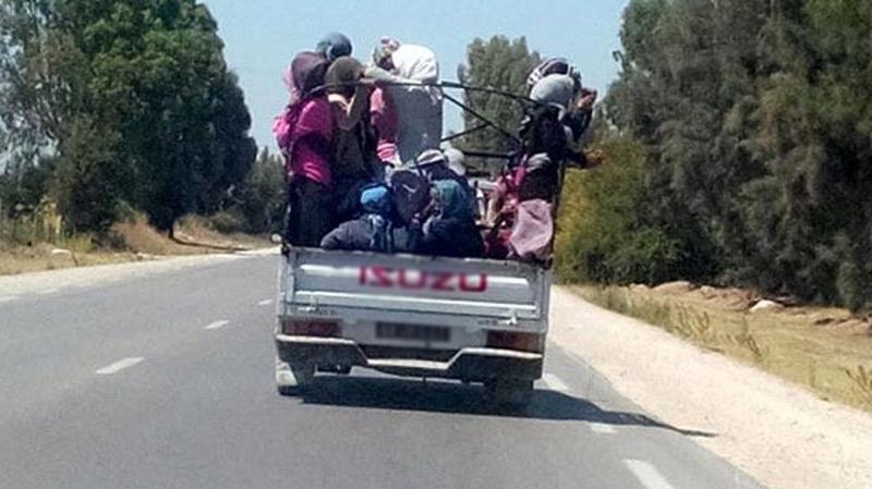 سيدي بوزيد: وفاة عاملة فلاحية دهسا بالشاحنة التي تقلّها