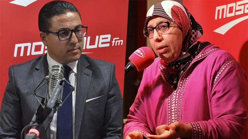 يامنية الزغلامي وهشام العجبوني ضيفا ميدي شو اليوم
