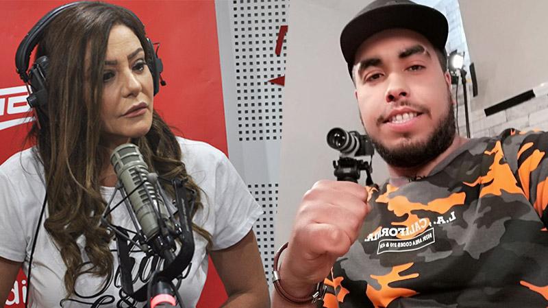بيّة الزردي لكلاي: 'دناءة وانحطاط وسلاحك رخيص والقضاء بيننا'