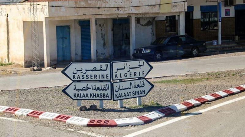 غلق الطريق الدولي تونس الجزائر