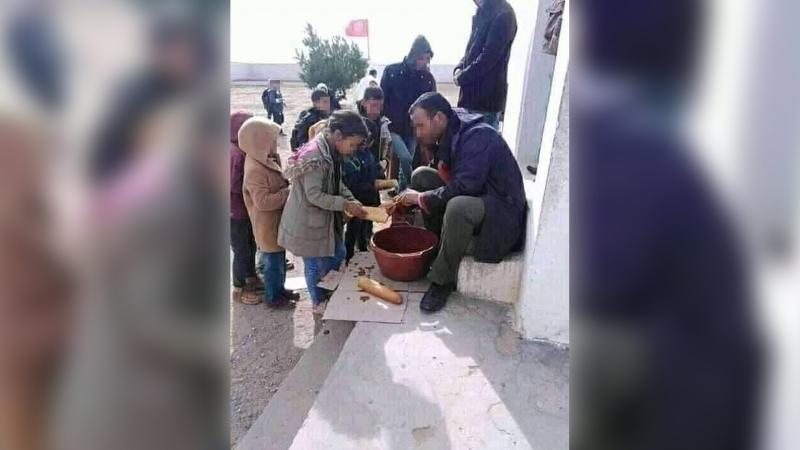 أكلة مدرسية مُهينة في مدرسة 'هنشير البقر': وزارة التربية تفتح تحقيقا