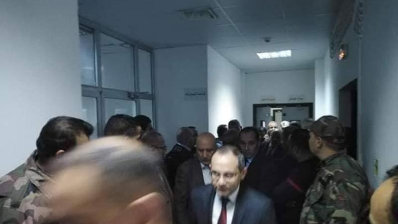 قيس سعيد يتنقل إلى مستشفى الحروق البليغة