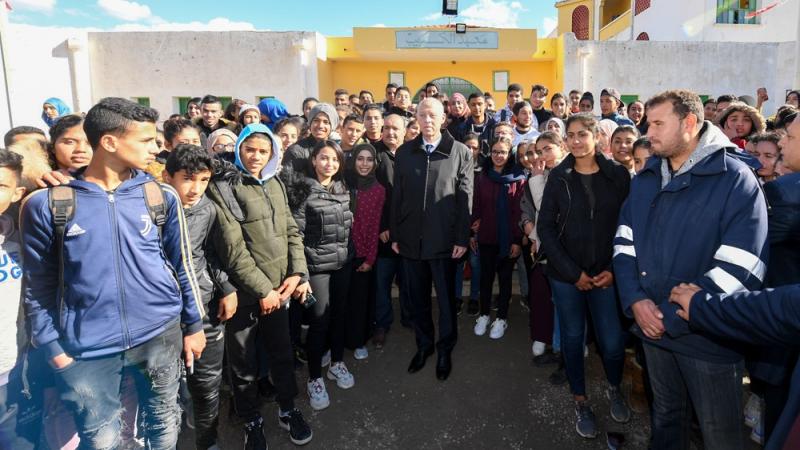 رئيس الجمهورية في زيارة فجئية لسليانة