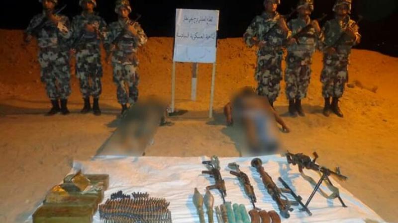الجيش الجزائري ينشر صورا لارهابيين قتلى