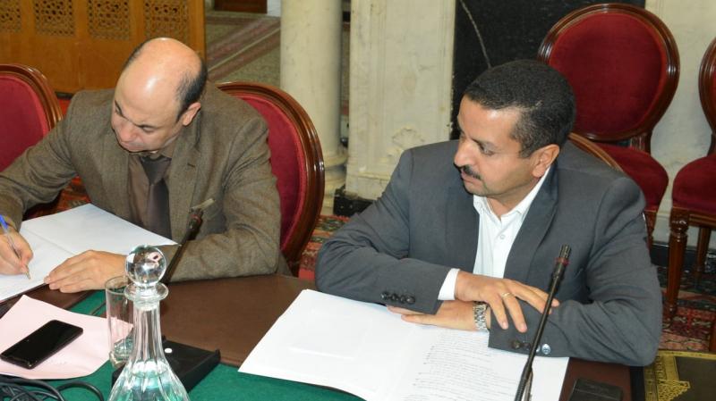 البرلمان يعلّق على حضور الحبيب خذر