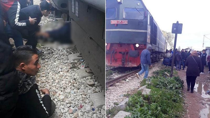 فاجعة عمدون: كانتا ترافقان جثمان احدى الضحايا فدهسهما القطار