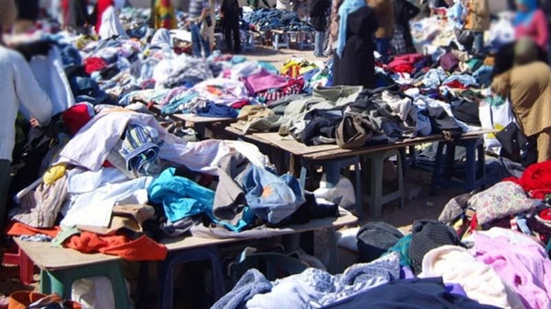 الملابس المستعملة