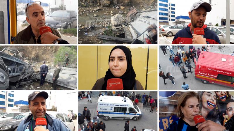 مواطنون:حادث عمدون فاجعة تؤلمنا وعار يلاحق المسؤولين