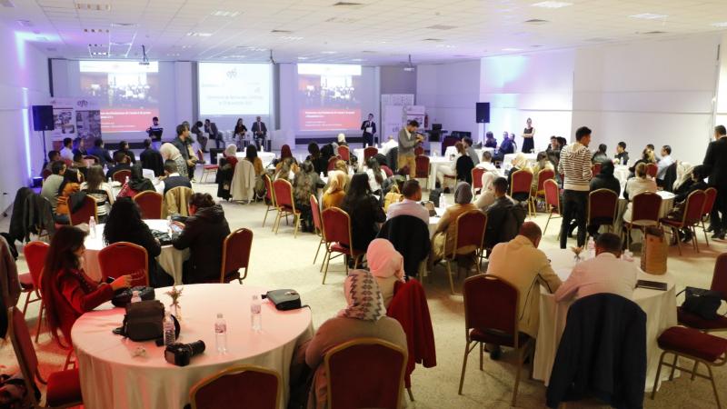 تسليم شهادات التدريب للدفعة 2 من الحاصلين على جائزةEFE-Tunisia