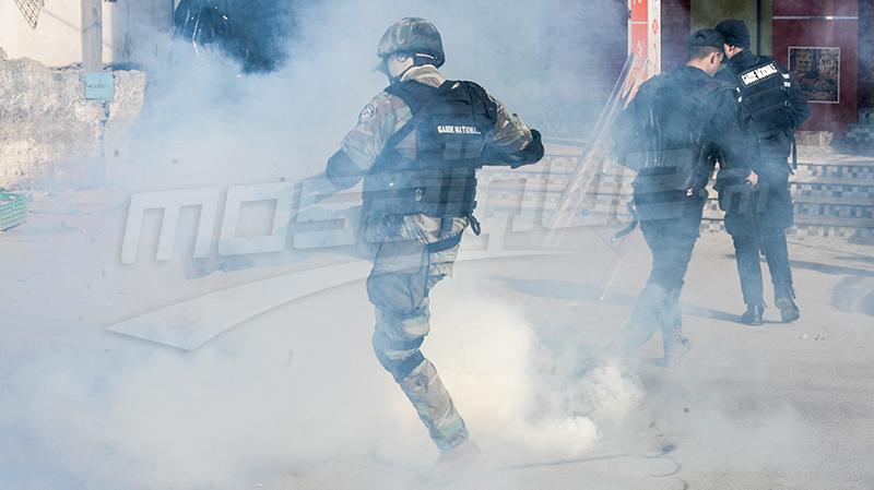 جلمة : تجدد المناوشات بين الأمنيين والمحتجين