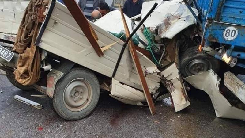 الضباب يتسبّب في حادث مرور في سوسة