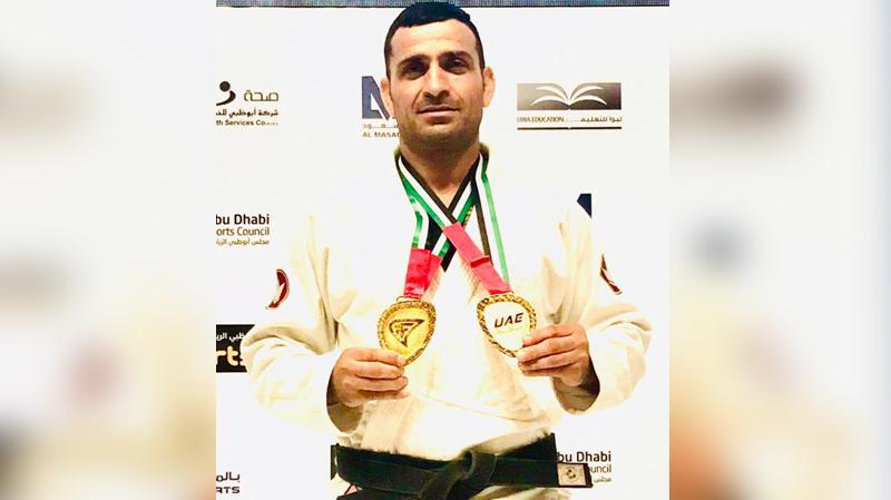 تتويج عالمي جديد للاعب الجوجوتسو حسن موسى في أبو ظبي