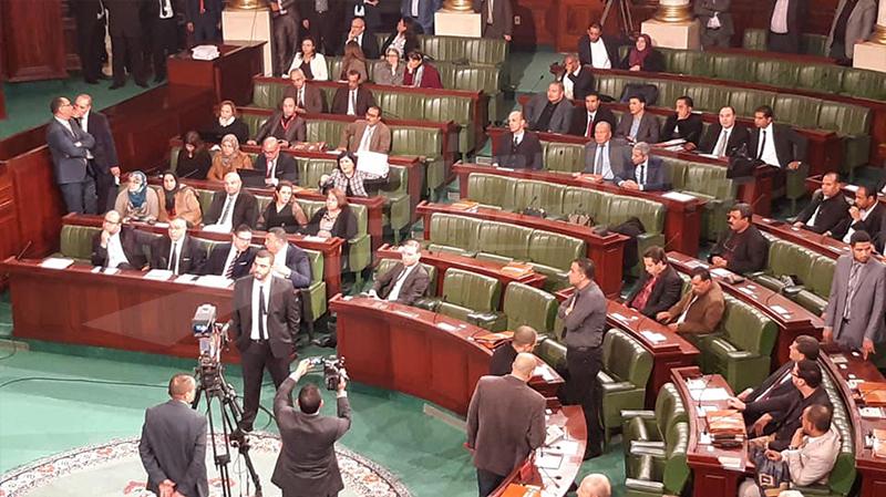 حالة من التشنج والفوضى في البرلمان
