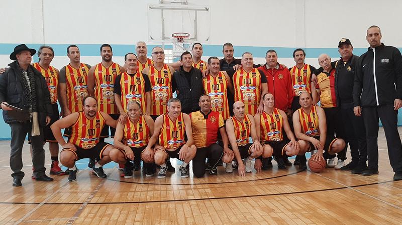 في مائوية فريقهم: ''الترجيون'' يسترجعون ذكريات كرة السلة