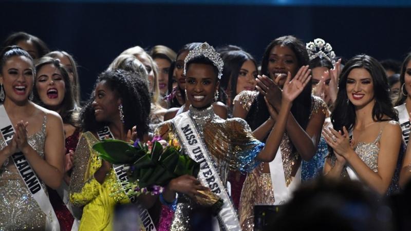 إفريقية تتربّع على عرش ملكة جمال الكون