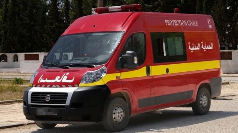 إنقلاب شاحنة في عمدون