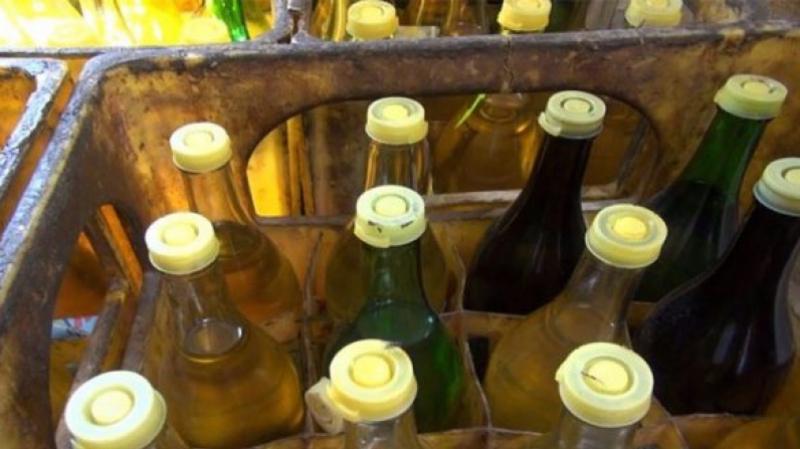 حجز أكثر من 2500 لتر من الزيت المدعّم مخبّأة بطريقة عشوائية