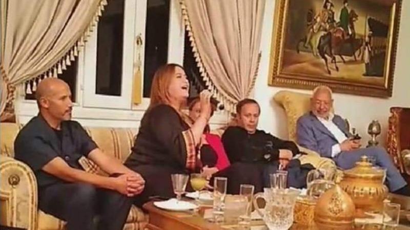نهى رحيّم: 'هذه حقيقة ظهوري مع راشد الغنوشي..'