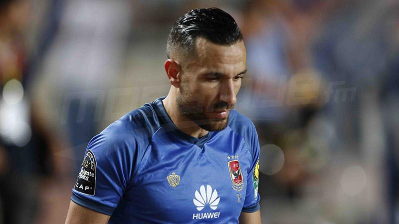 علي معلول أفضل لاعب محترف في الدوري المصري