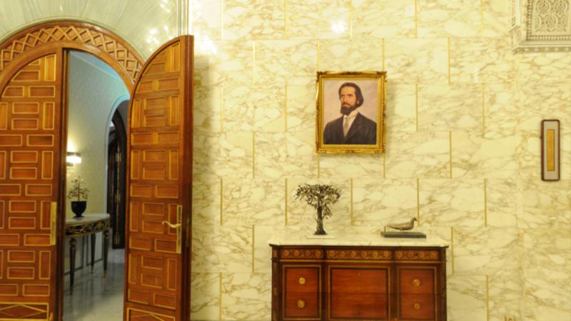 المكلفة بالإتصال في الرئاسة تنفي إزالة صور بورقيبة من قصر قرطاج