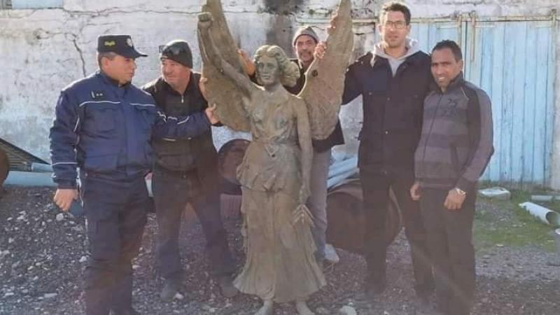 ''مريم العذراء'' في طبرقة: التمثال ليس أثريا وليس لمريم!