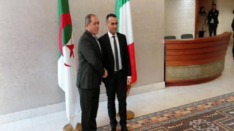 دعم إيطالي للمقاربة الجزائرية لحل الأزمة الليبية