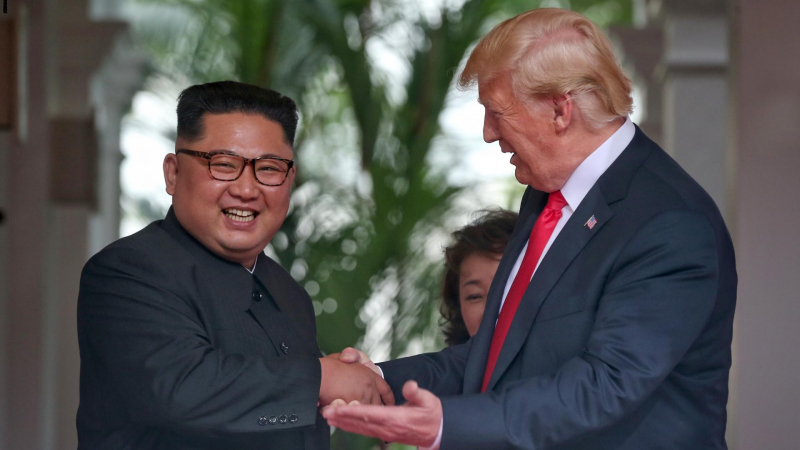 ترامب يهنّئ زعيم كوريا الشمالية بعيد ميلاده