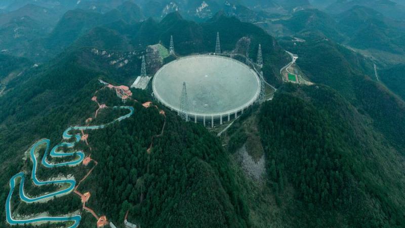 الصين تبدأ تشغيل تلسكوبها العملاق بحثا عن حياة خارج الأرض