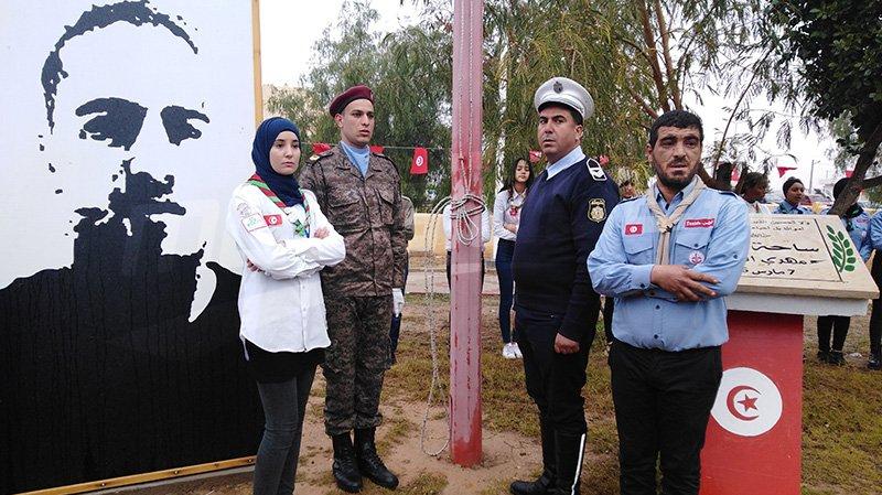 تطاوين: إحياء ذكرى الثورة بساحة الشهيد مهدي الشملالي