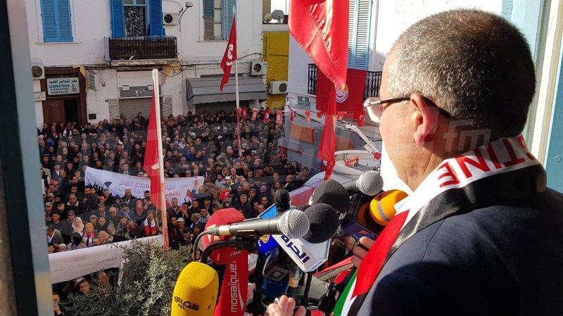 الطبوبي: لولا الإتحاد لما نجحت الثورة
