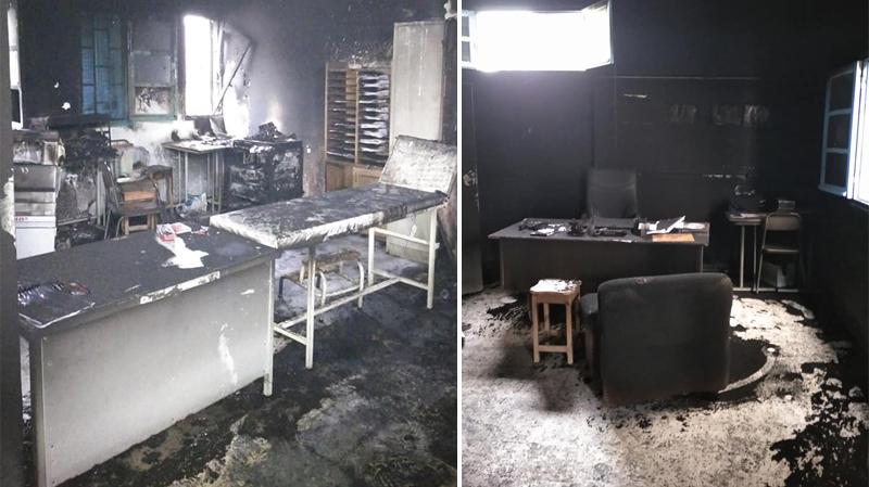 الشابة: الإحتفاظ بتلاميذ سرقوا معهدا وأضرموا النار فيه