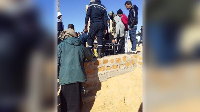 تطاوين: إنتشال جثة من بئر في رمادة