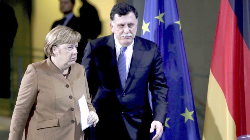 حكومة الوفاق الليبيّة تطالب بدعوة تونس الى مؤتمر برلين