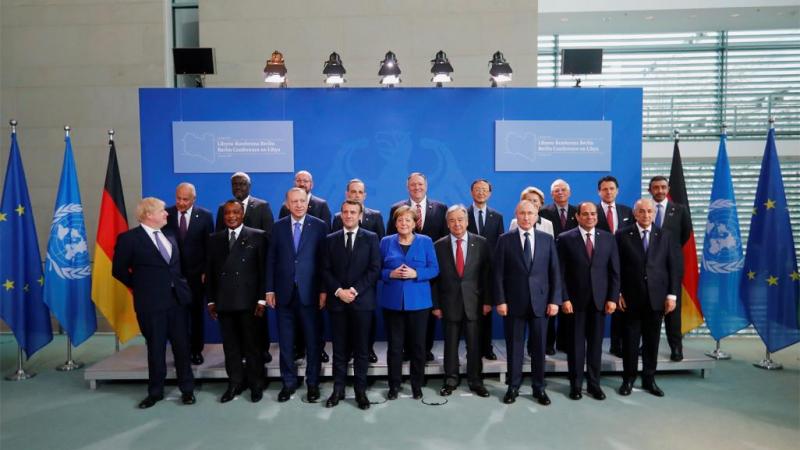 مؤتمر برلين يدعو إلى ''وقف دائم لاطلاق النار'' في ليبيا