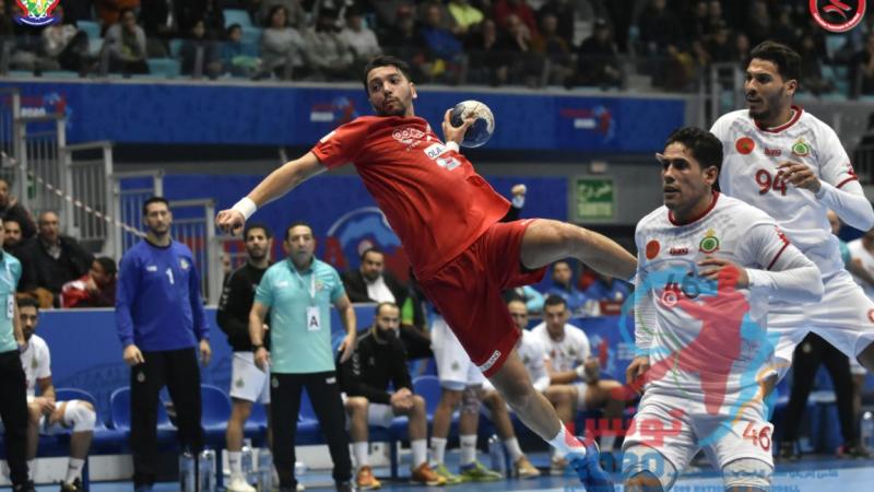 كان كرة اليد: تونس تتأهّل لنصف النهائي بعد انتصار عريض على المغرب