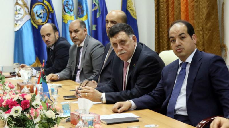 حكومة الوفاق الليبية ترفض المشاركة في اجتماع الجزائر